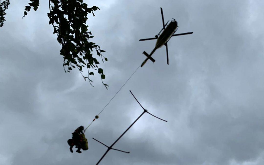 Lackenhofer Bergrettung geht in die Luft
