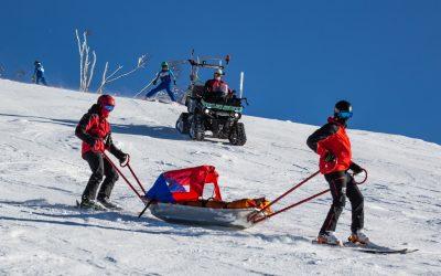 Bergrettung Lackenhof leistet Betrag zum sicheren Wintersport
